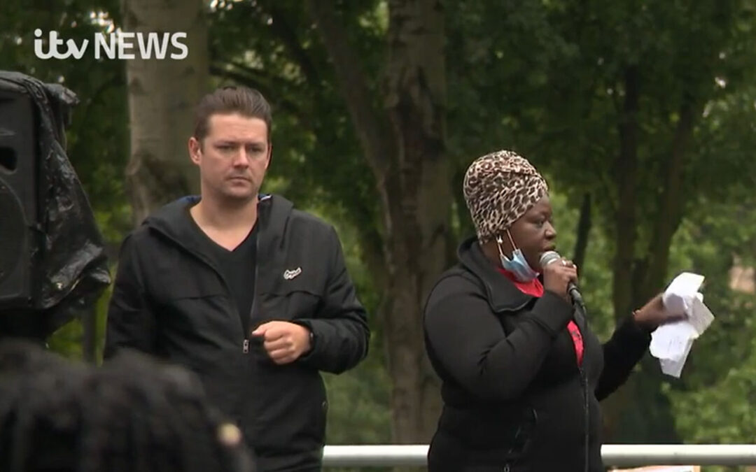 Family of Christopher Alder call for end to systemic racism